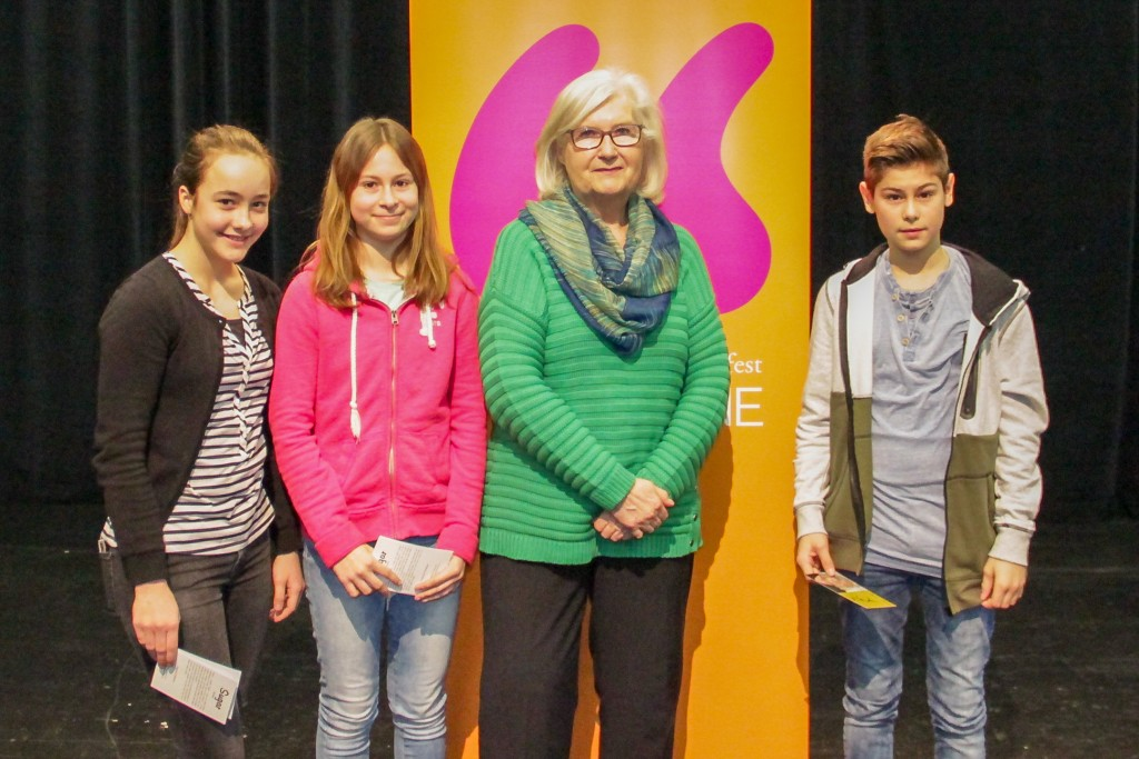 Louisa, Pauline, Dagmar Chidolue, Luis