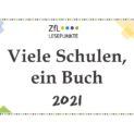 """""""Viele Schulen ein Buch"""" geht 2021 in eine neue, virtuelle Runde"""